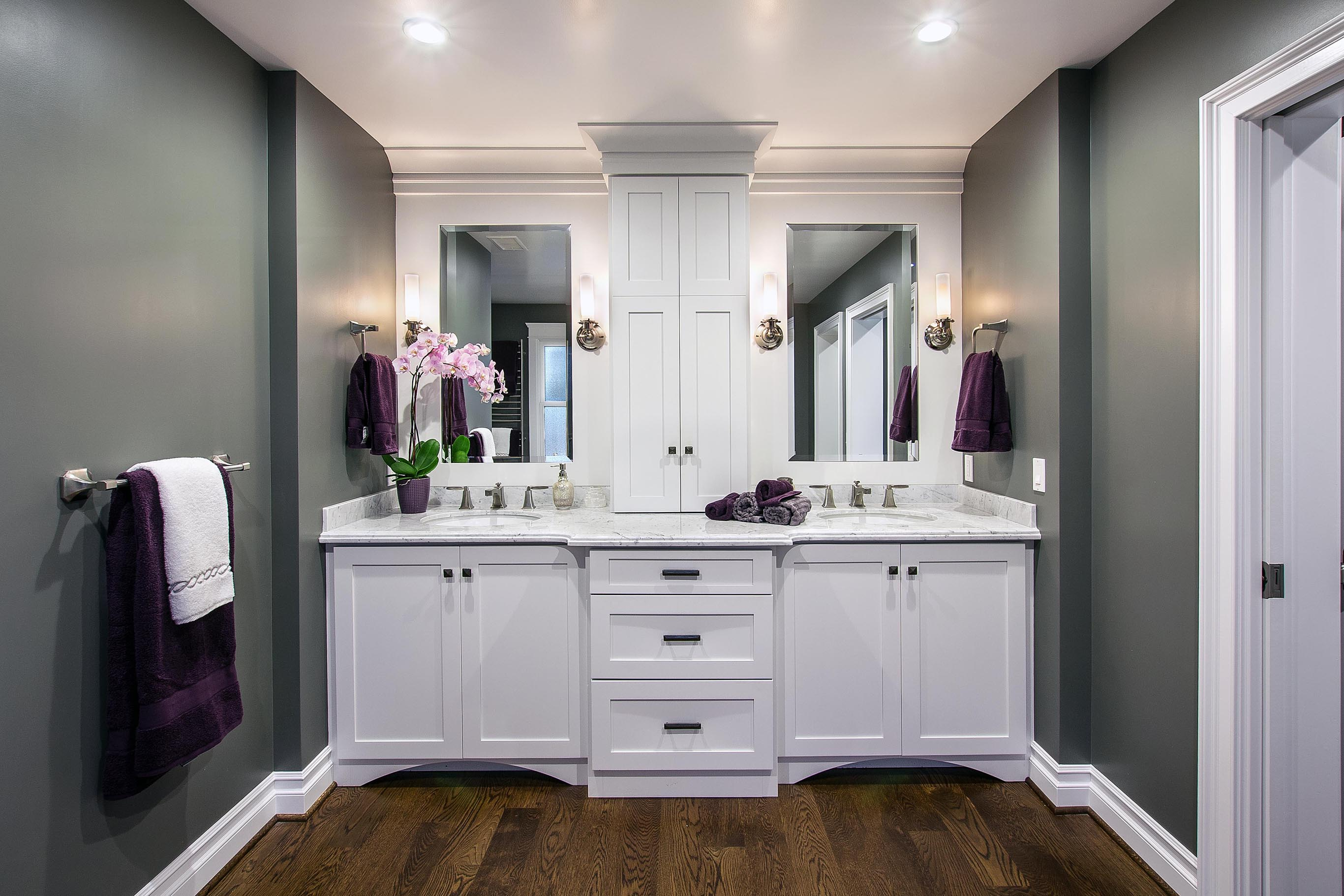 Bathroom Double Sink Cabinets