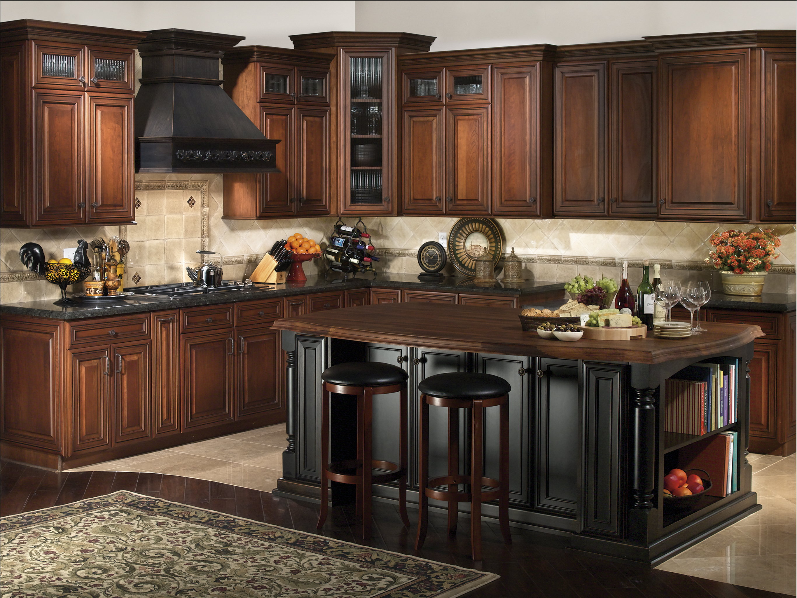 Alder Kitchen Cabinetry