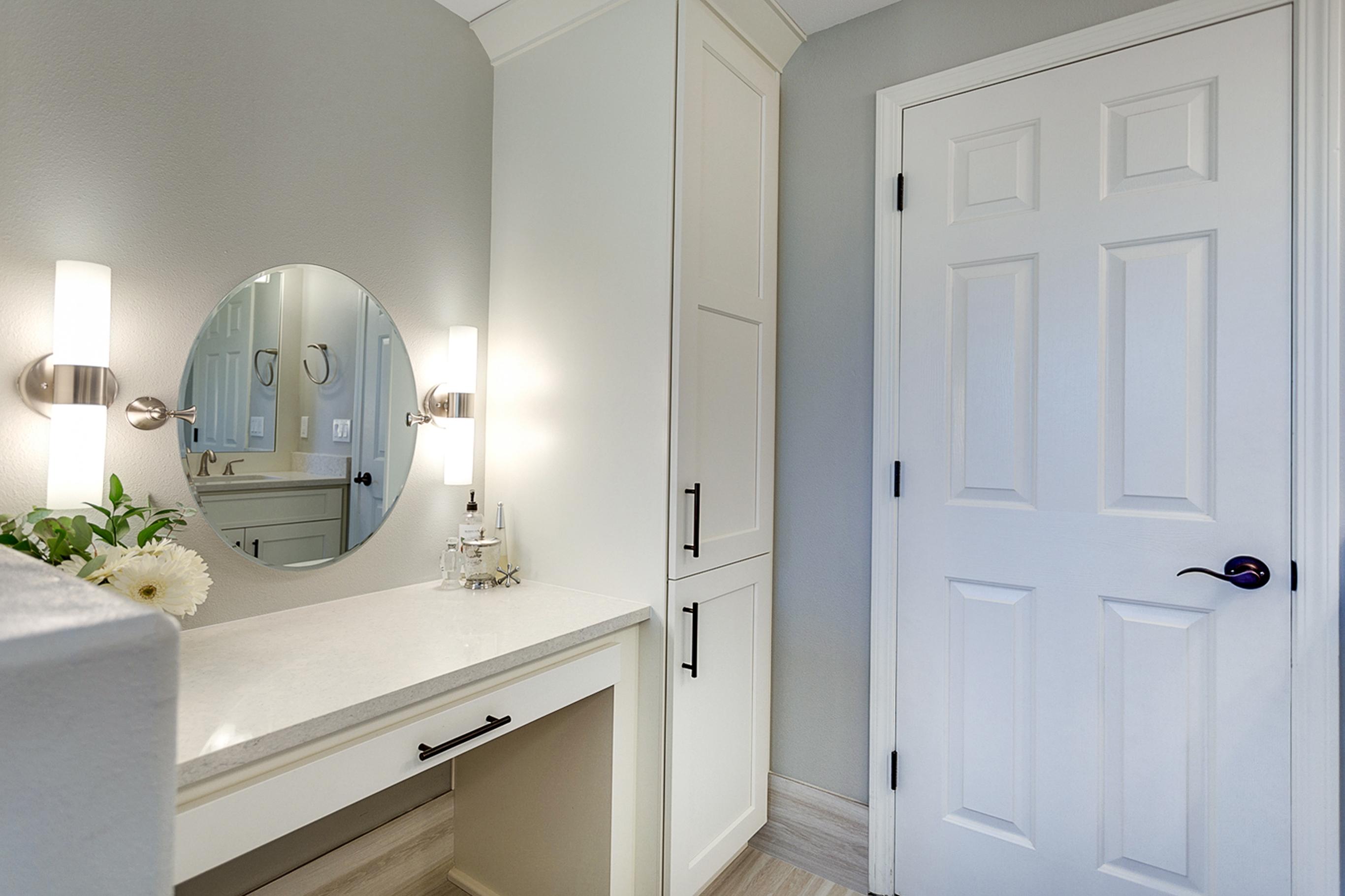 White Vanity Cabinets