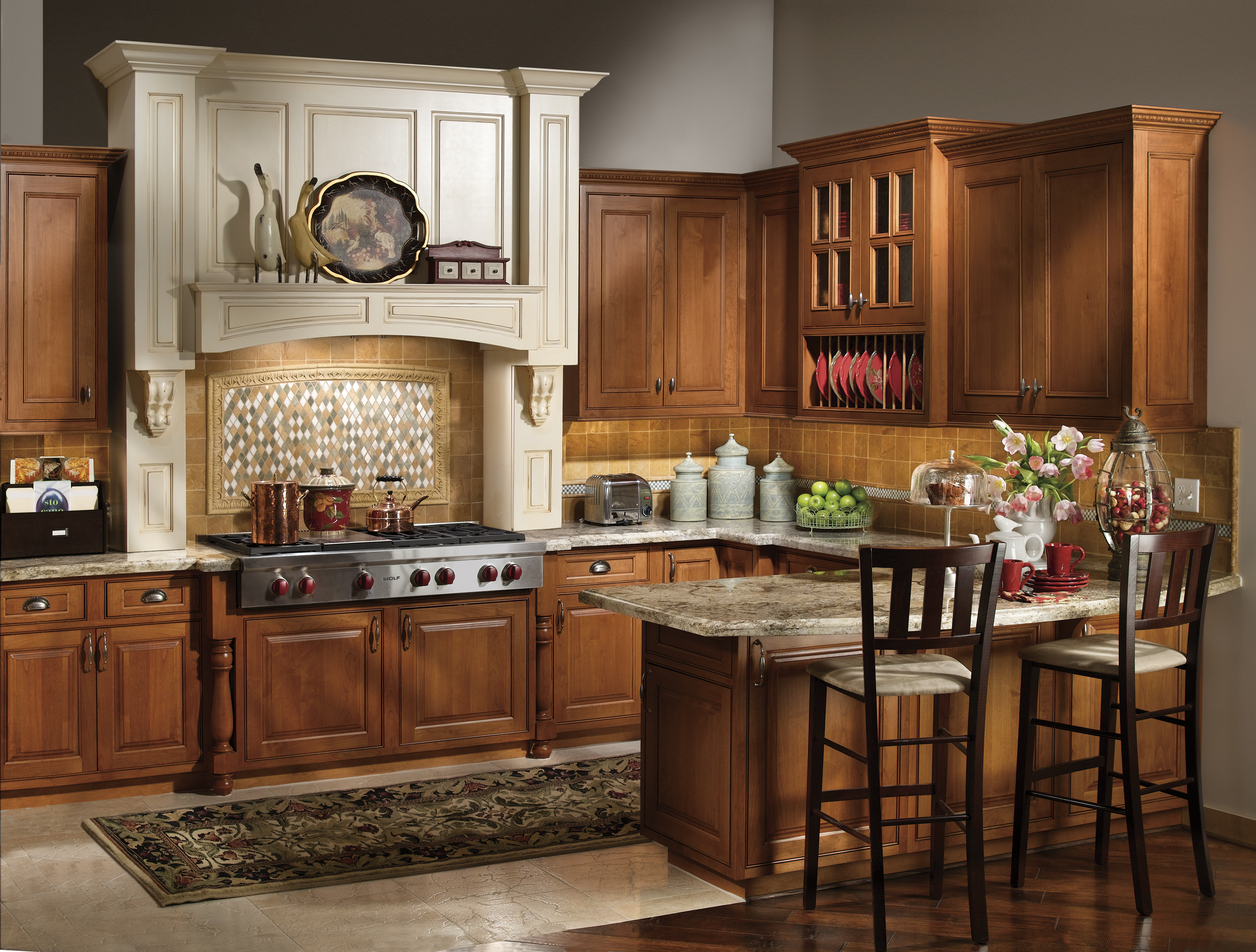 American Country Style Cabinetry