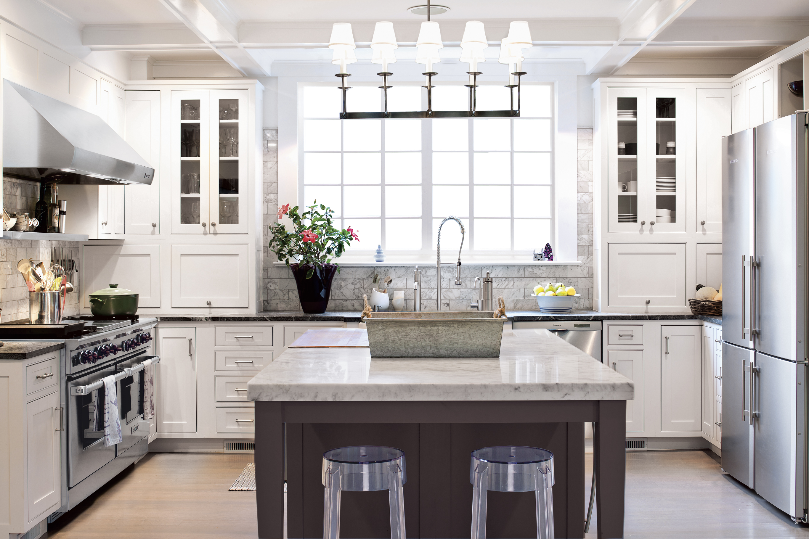 Coastal Kitchen Cabinets