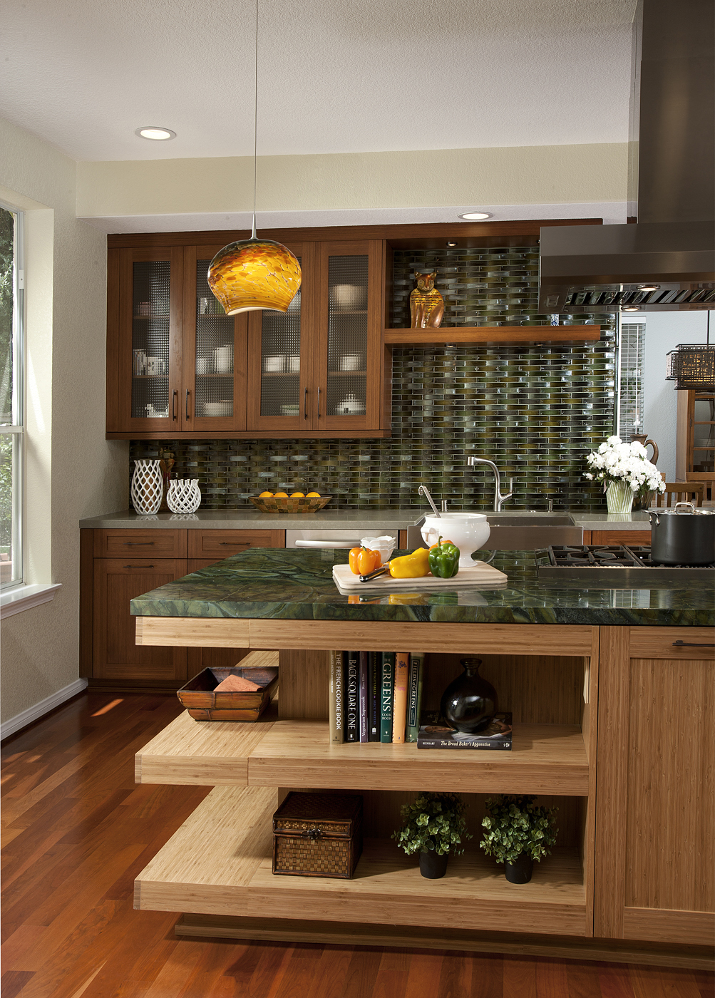 Custom Bamboo Cabinetry