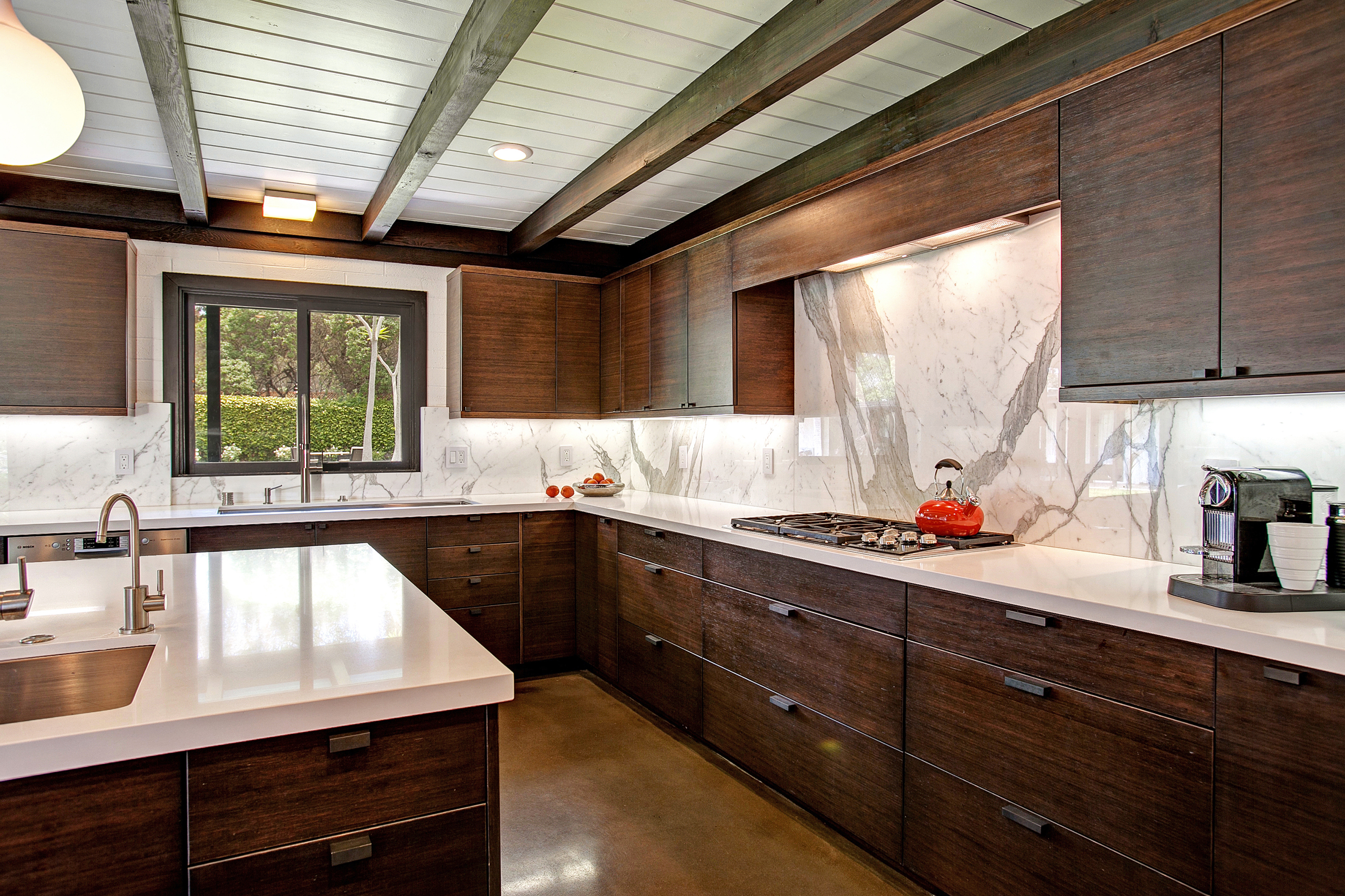 Mid-Century Modern Kitchen Design