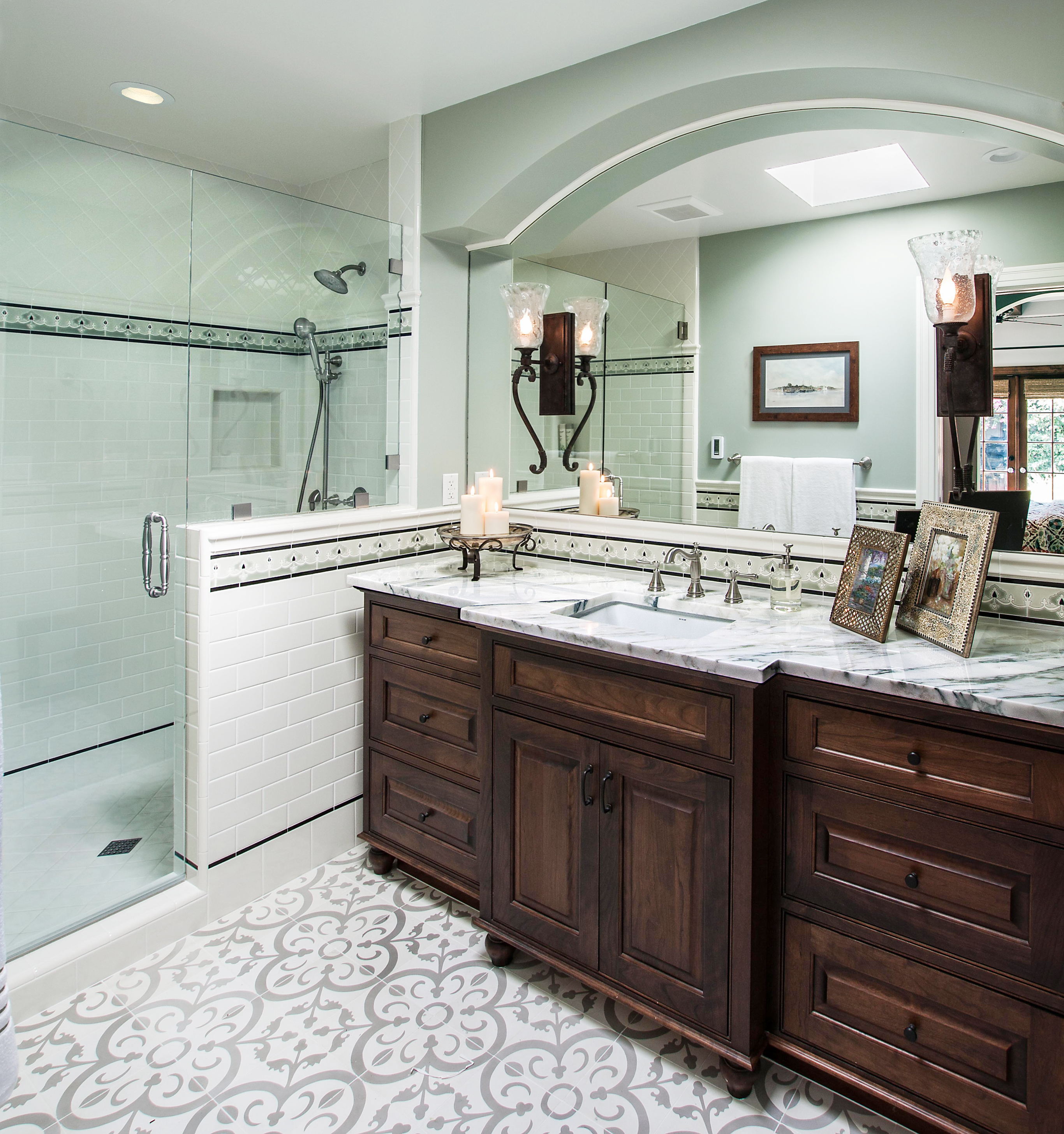 Fine Dark Wood Bathroom Cabinets Dewils Custom Cabinetry Complete Home Design Collection Epsylindsey Bellcom