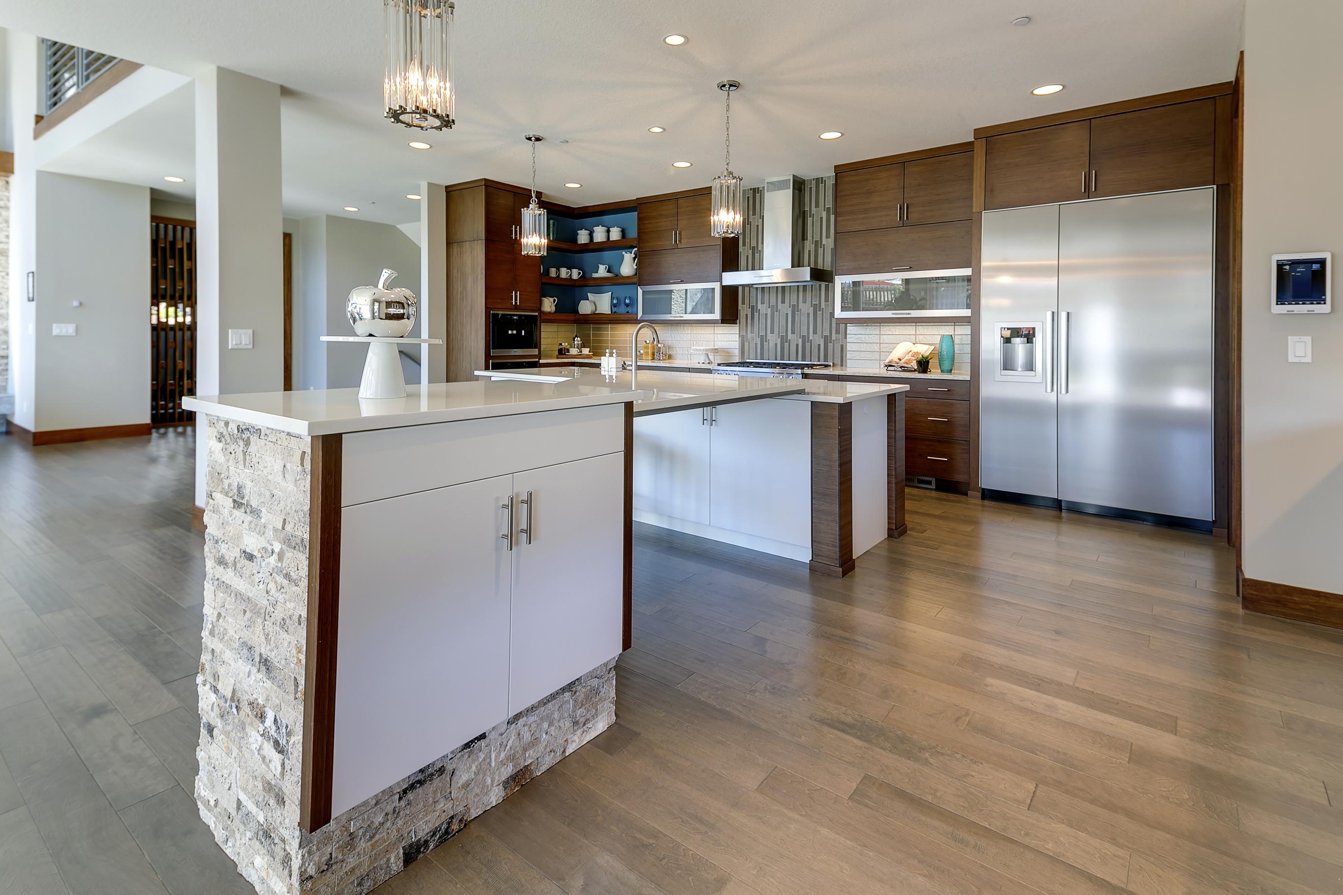 Mid Century Modern Bamboo Kitchen Cabinets Dewils