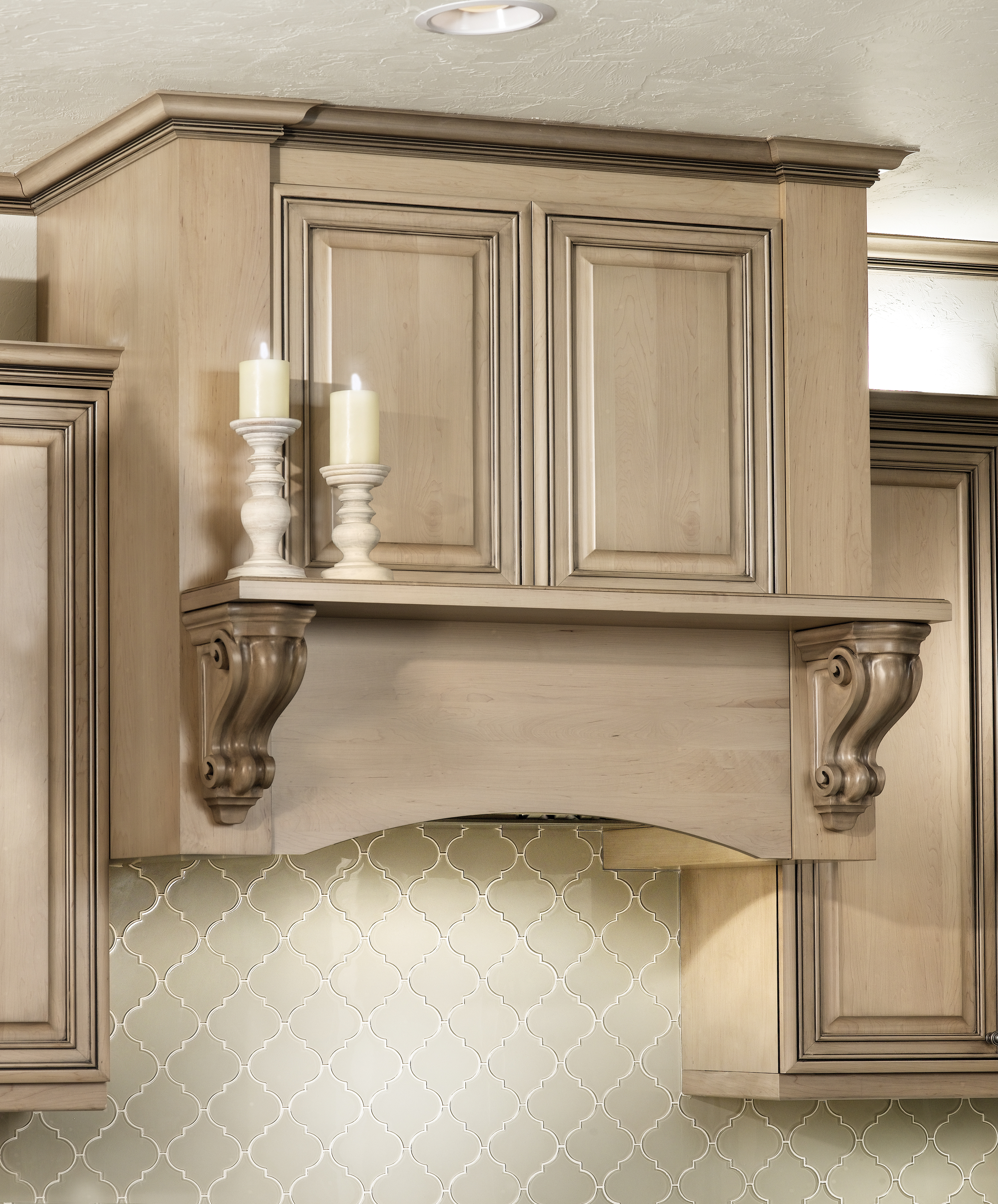 Custom Hood Kitchen Cabinetry