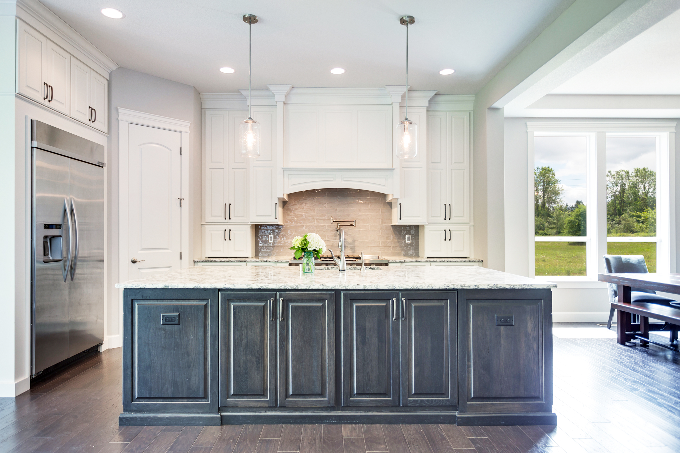 Kitchen Cabinets with Belvedere Doors