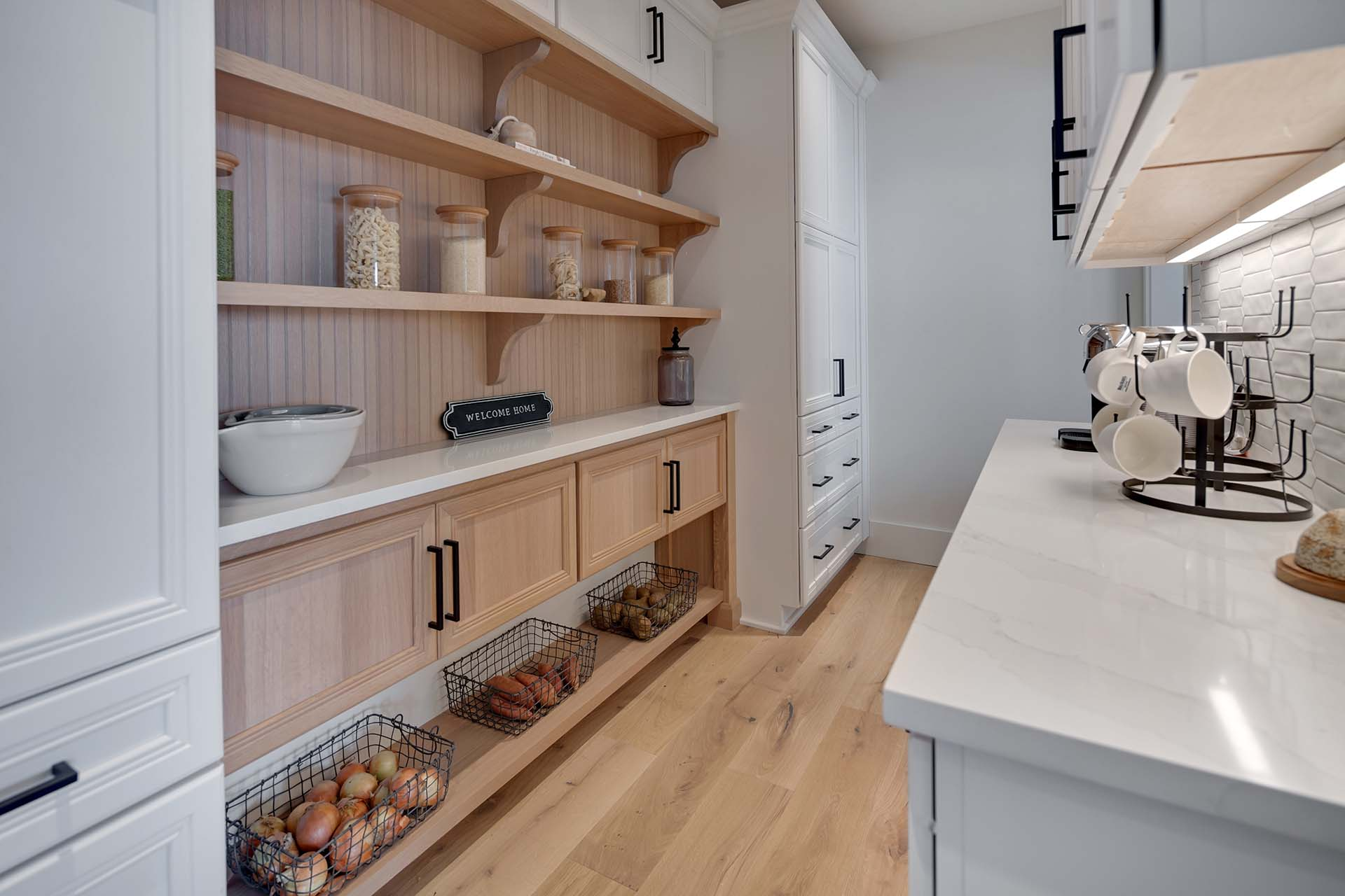 Modern Farmhouse Working Pantry