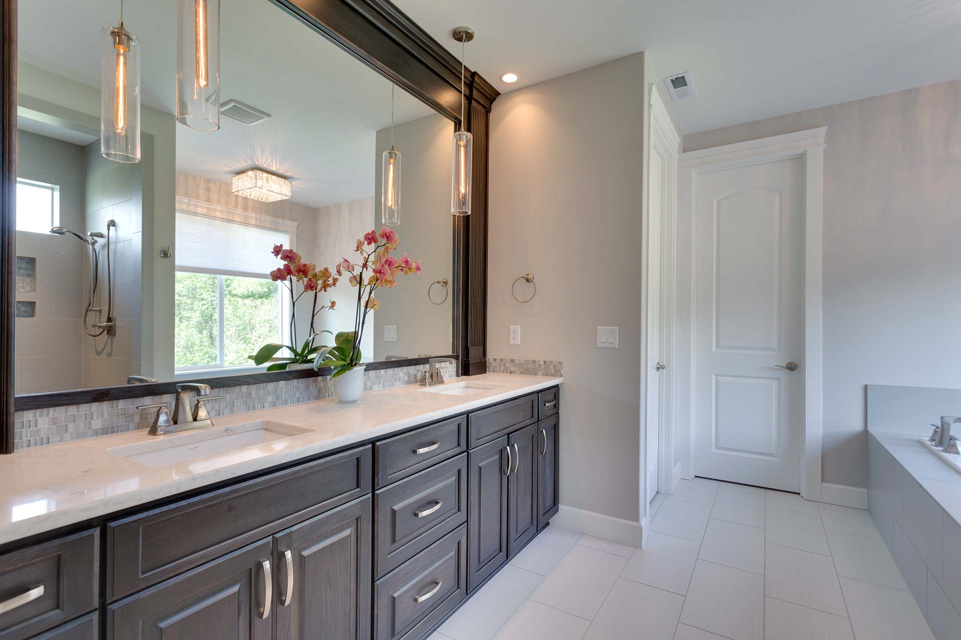Classic Master Bathroom Cabinetry