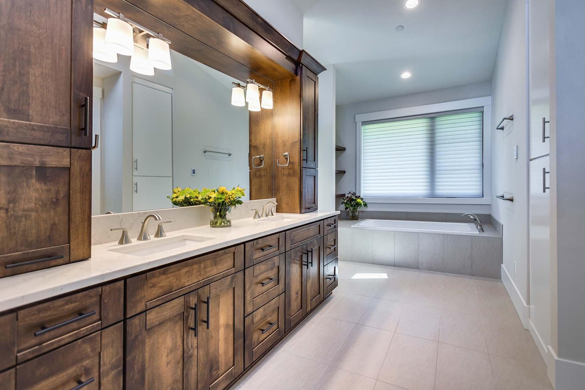 Rustic Bathroom Cabinetry